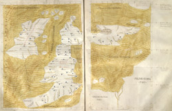 Ptolemaic Map Of The British Isles, Ca. 1480 ff.. 58v-59
